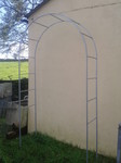 Heavy Duty Galvanised Rose Arch