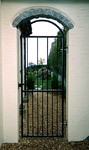 Metal arch top gate by Kevin Gerry